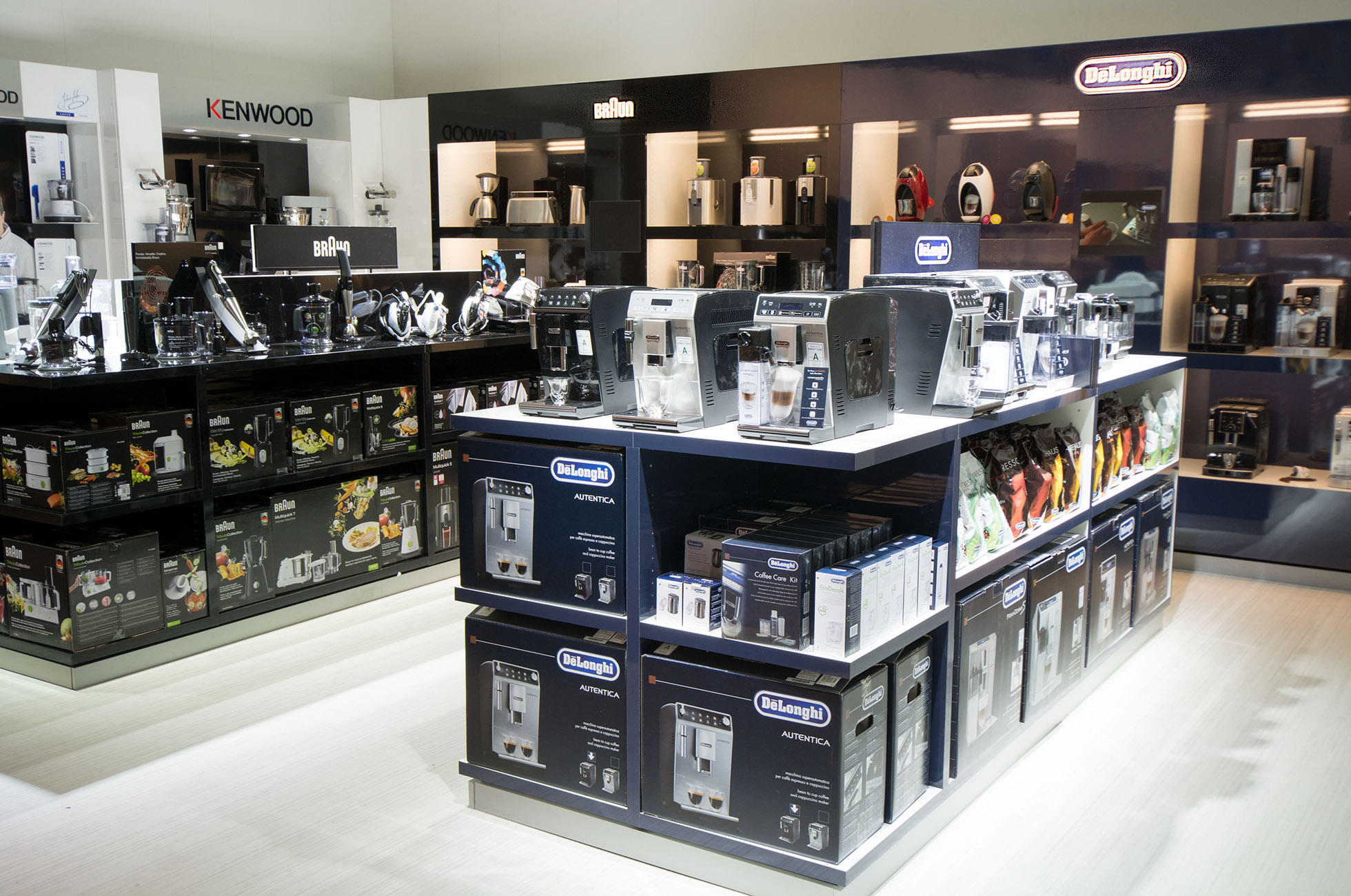 DeLonghi Retail Design