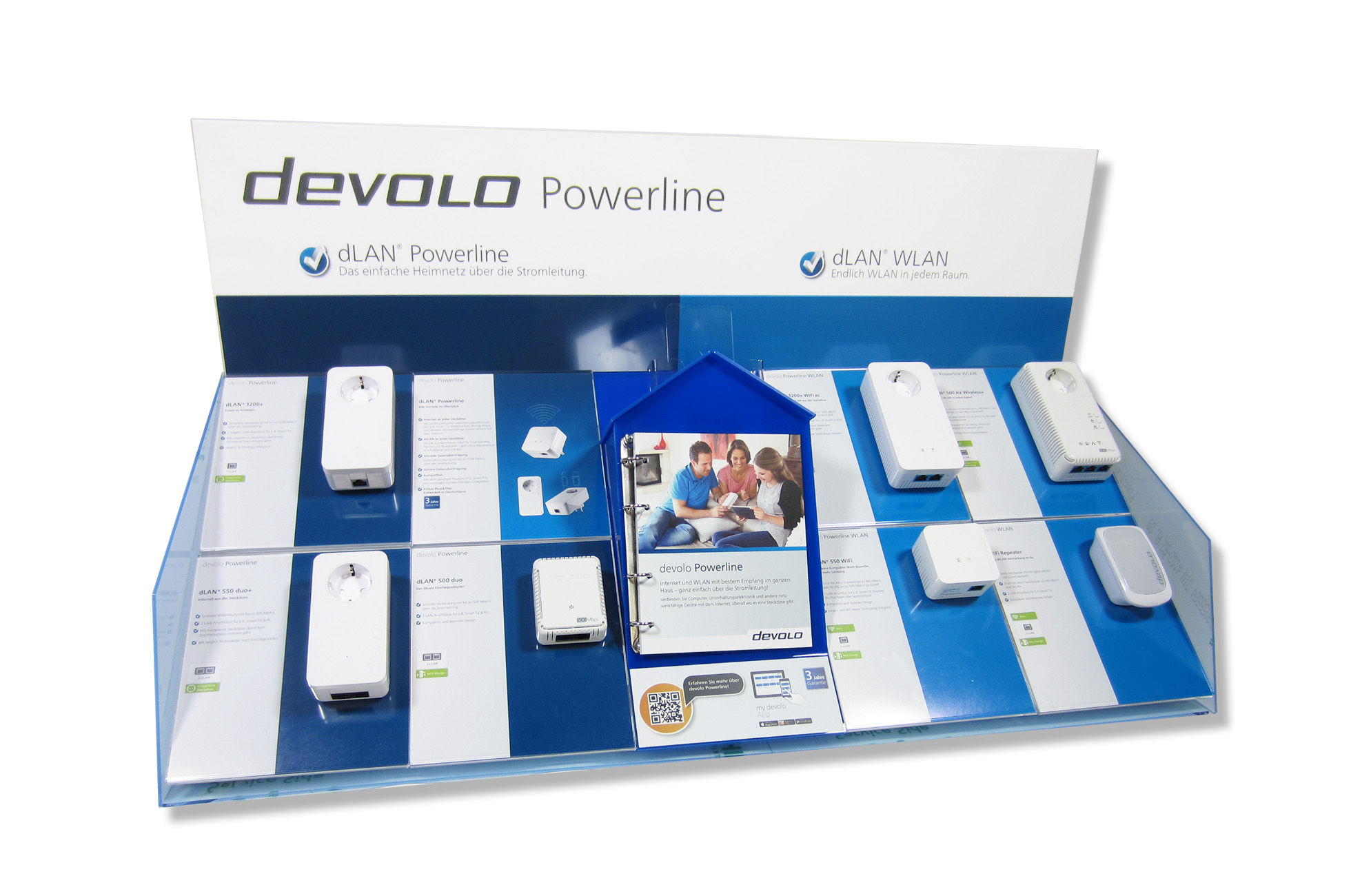 Devolo Retail POS-Display