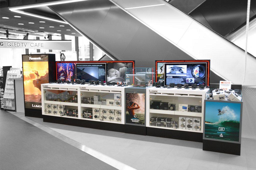 Lumix Saturn Retail Shop in Shop
