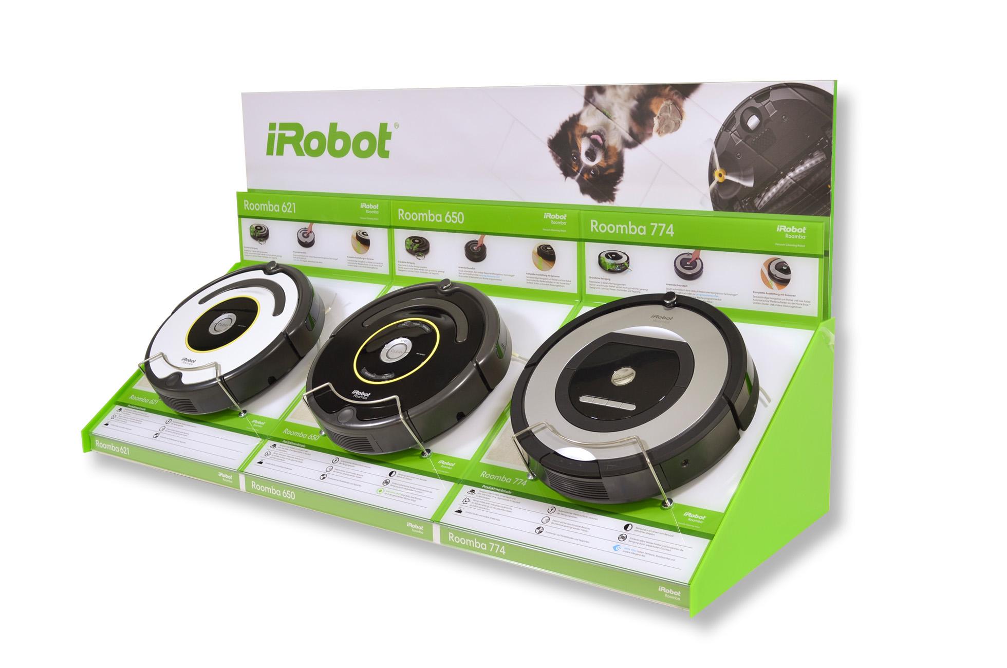iRobot Retail POS-Display